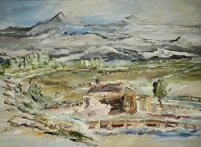 Alaskan Wilderness Art Print by Edward Wolverton