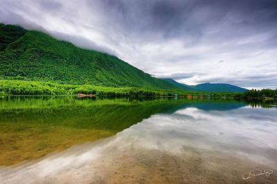 Alaska's Mirror Lake Art Print