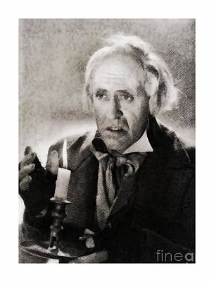 Musicians Royalty Free Images - Alastair Sim as Scrooge Royalty-Free Image by John Springfield