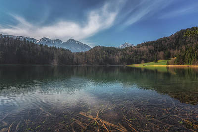 Bavarian Photograph - Alatsee by Chris Fletcher