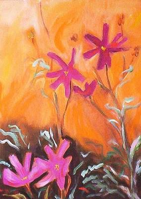 Painting - Alba Daisies by Winsome Gunning