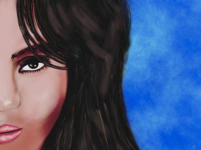 Jessica Alba Digital Art - Alba  by Mathieu Lalonde