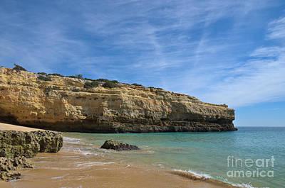 Algarve Photograph - Albandeira Beach Scene by Angelo DeVal