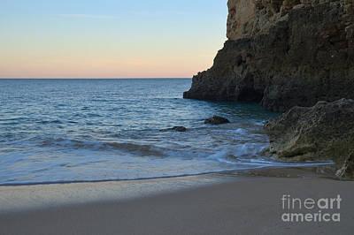 Albandeira Beach Welcoming Twilight 2 Art Print by Angelo DeVal