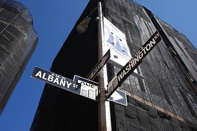 Albany And Washington Art Print by Rob Hans