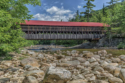 Photograph - Albany Bridge Albany New Hampshire by Brian MacLean