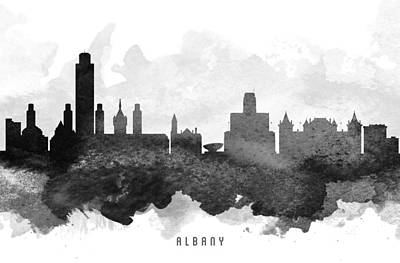 Albany Cityscape 11 Art Print by Aged Pixel