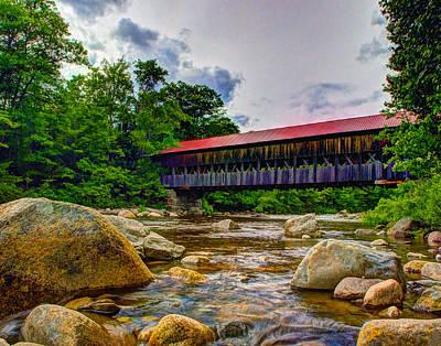 Photograph - Albany Covered Bridge 302 by Jeff Stallard