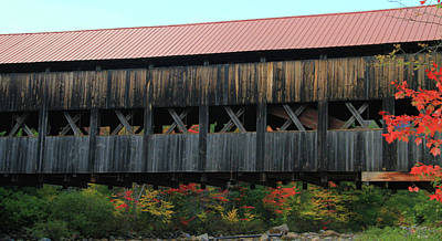 Photograph - Albany Covered Bridge by Dan Sproul