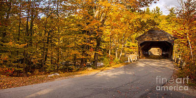 Photograph - Albany Covered Bridge IIi by Brian Jannsen