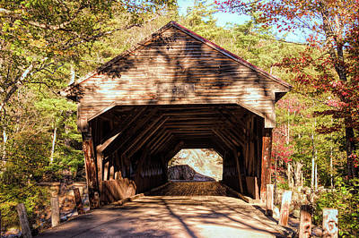 Photograph - Albany Covered Bridge by Jeff Folger