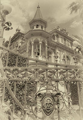 Photograph - Albert Chamas Villa by Nigel Fletcher-Jones