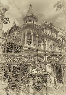 Photograph - Albert Chamas Villa by Nigel Fletcher-Jones