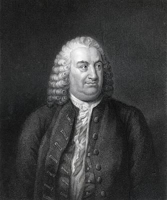 Alberto Drawing - Albert De Haller 1708 To 1777 Also by Vintage Design Pics