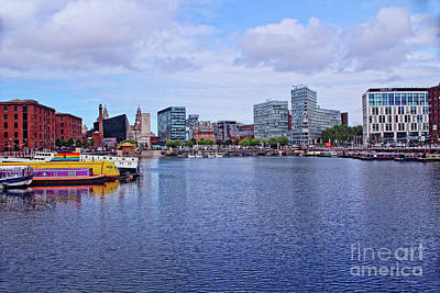 Photograph - Albert Dock From The River Mersey by Doc Braham