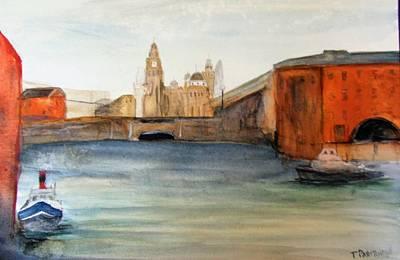 Albert Dock, Liverpool Original by Trevor Partridge