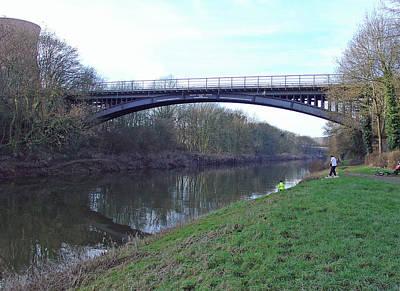 Coalbrookdale Photograph - Albert Edward Bridge  by Rod Johnson