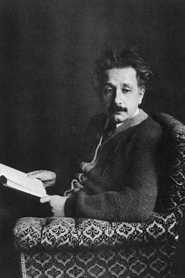 Jt History Photograph - Albert Einstein 1879-1955, Photo Ca by Everett
