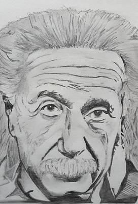 Albert Einstein Original by Premnath Mohan