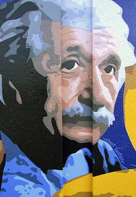 Valdes Painting - Albert Einstein by Roberto Valdes Sanchez