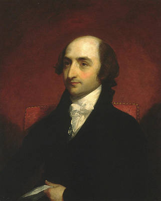 Painting - Albert Gallatin by Gilbert Stuart