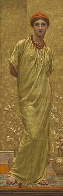 Music Figurative Potraits - Albert Joseph Moore, A.R.W.S. 1841-1893 GARNETS by Albert Joseph Moore