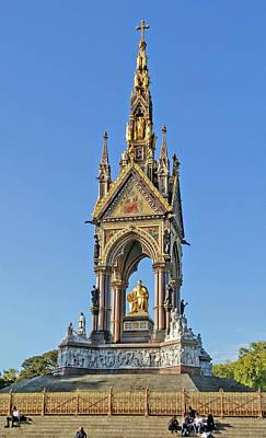 Photograph - Albert Memorial by Martin Howard