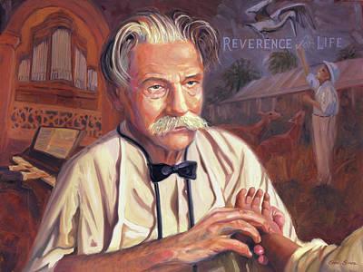 Albert Schweitzer Art Print