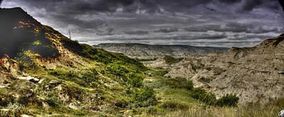 Photograph - Alberta Badlands 002 by Philip Rispin