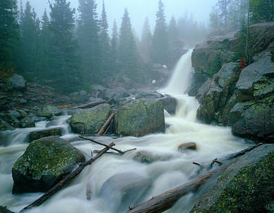Photograph - Alberta Falls by Mark Miller