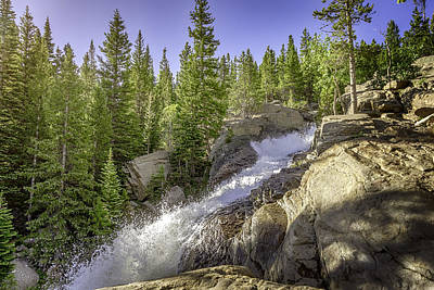 Photograph - Alberta Falls by Mary Angelini