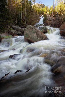 Photograph - Alberta Falls, Rocky Mountain National Park by Ronda Kimbrow