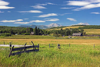 Photograph - Alberta Foothills - 365-114 by Inge Riis McDonald