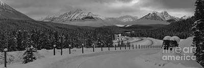 Photograph - Alberta Highway 1 Panorama by Adam Jewell