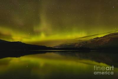 Photograph - Alberta Northern Lights by Adam Jewell
