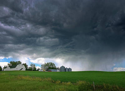 Photograph - Alberta Storm by Debby Herold