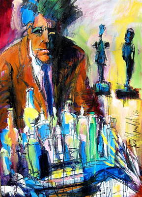 Painting - Alberto by Les Leffingwell