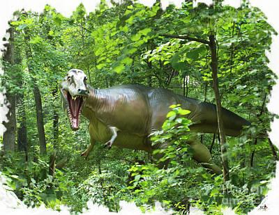 Photograph - Albertosaurus by Sandra Clark