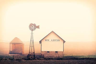 Monticello Photograph - Albertson Farm by Todd Klassy
