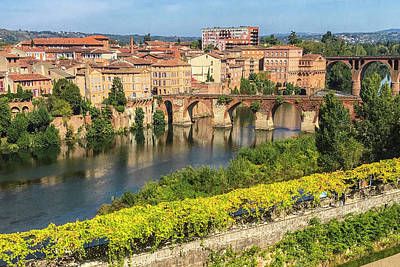 Photograph - Albi France by Alan Toepfer