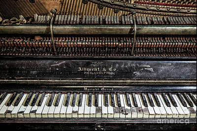 Photograph - Albrecht Company Piano by Stacey Granger