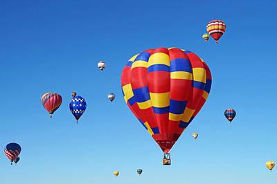 Photograph - Albuquerque Balloon Festival 1 by Lawrence S Richardson Jr