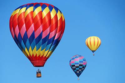 Photograph - Albuquerque Balloon Festival 2 by Lawrence S Richardson Jr