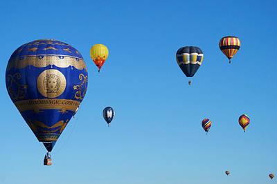 Photograph - Albuquerque Balloon Festival 4 by Lawrence S Richardson Jr