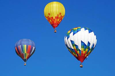 Photograph - Albuquerque Balloon Festival 5 by Lawrence S Richardson Jr