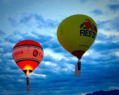 Photograph - Albuquerque Balloon Festival by Anne Sands