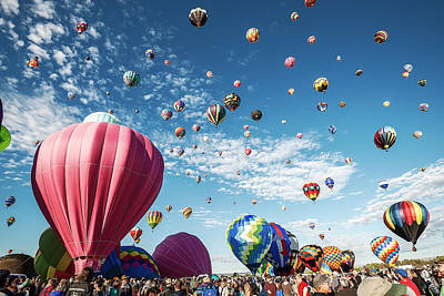 Photograph - Albuquerque Balloon Fiesta by Scott Cordell
