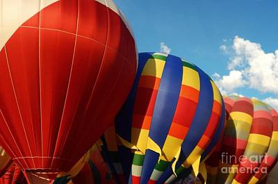 Photograph - Albuquerque Balloons by Anne Sands