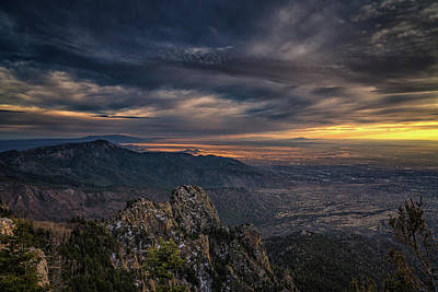 Photograph - Albuquerque Valley by Framing Places