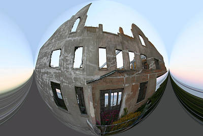 Alca Spherical Art Print by Holly Ethan